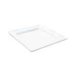 Biodore vierkant bord suikerrietpulp / bagasse 20 cm 10x50st