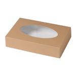 Biodore cateringdoos 55 x 37 x 8 cm Kraftkarton en PLA