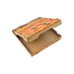 Pizzabox 33x33x4cm. kraft bruin