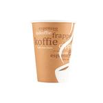Koffiebeker kart. koffiemotief 180cc a2500