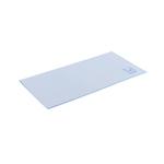 Kunstzeem blauw 35x37cm a10