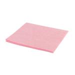Huishouddoekjes roze 38 x 40 cm. a10