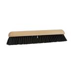 Zaalveger hout 50cm. haarmix/zwart