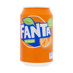 Fanta orange blik 33 cl