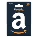 Amazon giftcard 25 euro