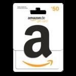 Amazon giftcard 50 euro