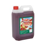 Raak vruchtensiroop aardbeien 5 liter