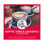 GiftForYou koffie thee & lekkernij