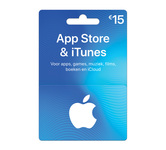 Giftcard Itunes 15 euro