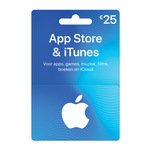 Giftcard Itunes 25 euro
