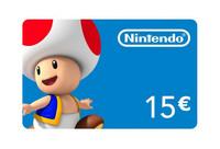 Nintendo eshop card 15 euro a20