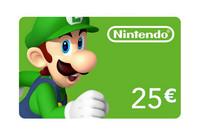 Nintendo eshop card 25 euor a20