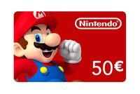 Nintendo eshop card 50euro a20