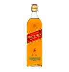 Johnnie Walker whisky red label 1 liter