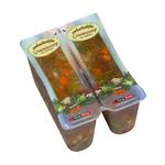 De Jong groentesoep/rundvlees 6 x 2 x 450 ml