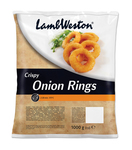 Lamb Weston crispy onion rings 1 kg