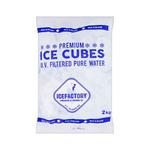 Icefactory premium ice cubes zak 2 kg