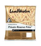 LambWeston private reserve fries steakhouse 9 x 18 mm 2.5kg F69