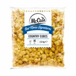 McCain country cubes 2.5 kg