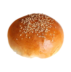 Glazed Roasted sesame bun 90 gram 11.5 centimeter