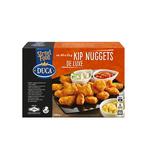 Duca voorgebraden kipfilet kipnuggets de luxe 25 gr