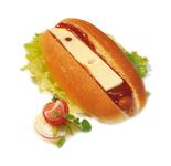 Kamstra broodje hotdog kaas 110 gr
