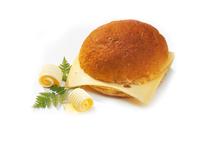Kamstra broodje dubbel kaas wit 75 gr