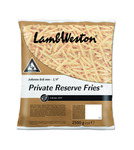 Lamb Weston private reserve fries 6/6 zak 2.5 kg