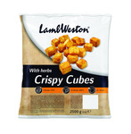 Lamb Weston crispy cubes with herbs 2.5 kilo