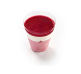 Panesco raspberry & almond cream shot