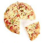 Diversi foods pizza ham / salami rond 134 gr