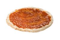 Diversi foods pizza getomateerd 25 cm 230 gr