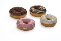 Diversi foods donuts assortiment 4 soorten 55 gr