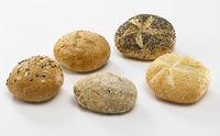Diversi foods mini hotelbroodjes 5 soorten 35 gr