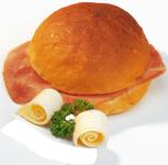 Kamstra broodje ham roomb wit 65 gr