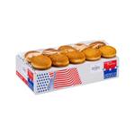 Kamstra hamburgerbun sesam 10 cm