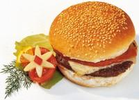 Kamstra broodje cheeseburger ( rundvlees ) 143 gr