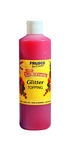 Frusco glitter topping roze 500 ml