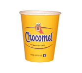 Beker karton chocomel 250 ml